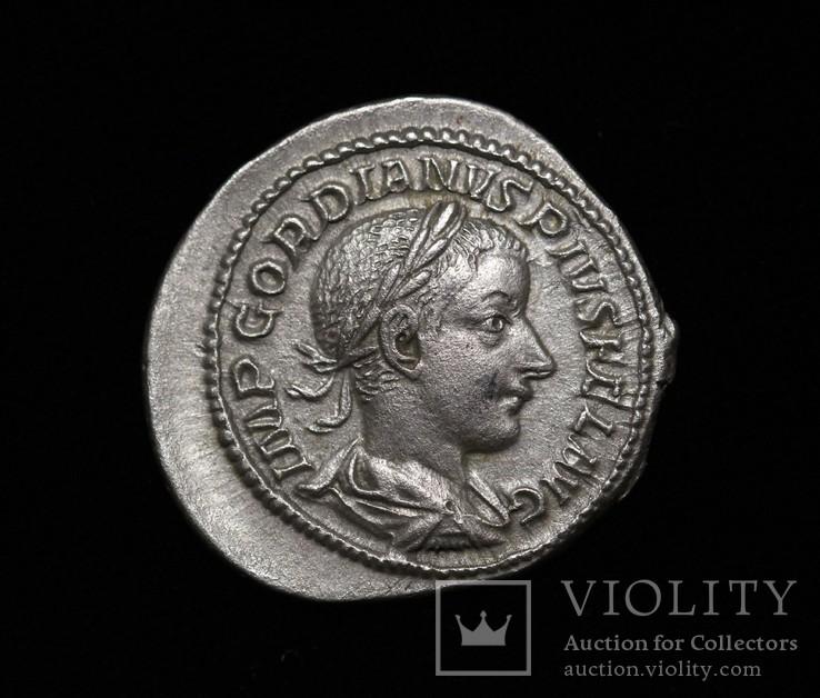 Гордиан III денарий RIC 127