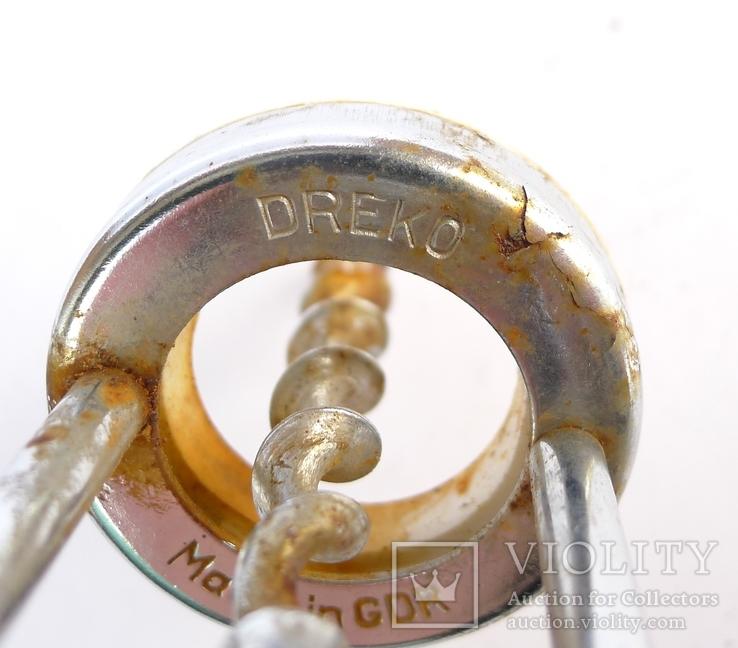 Штопор с рогом оленя Dreko GDR, фото №9