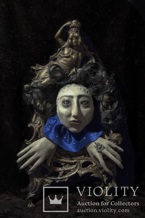 Интерьерная кукла-маска