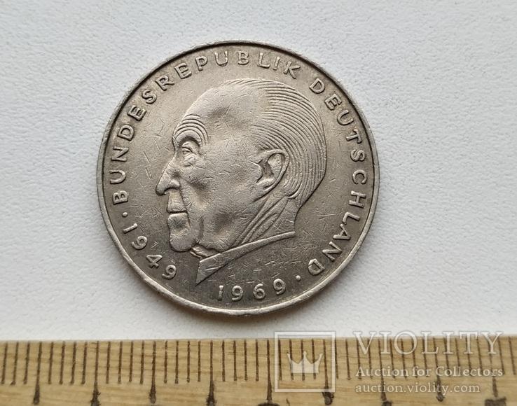 ФРН 2 марки 1973 р.