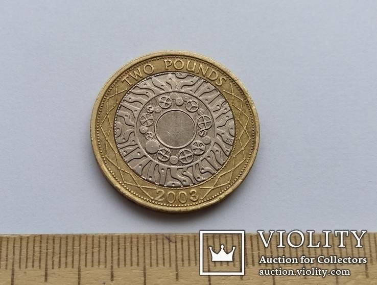 Великобританія 2 фунти 2003 р.