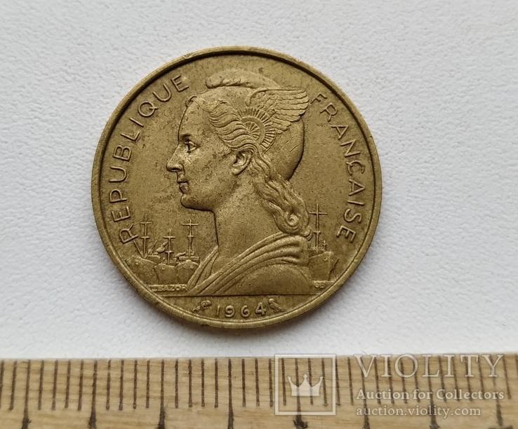 Коморські острови 20 франків 1964 р.