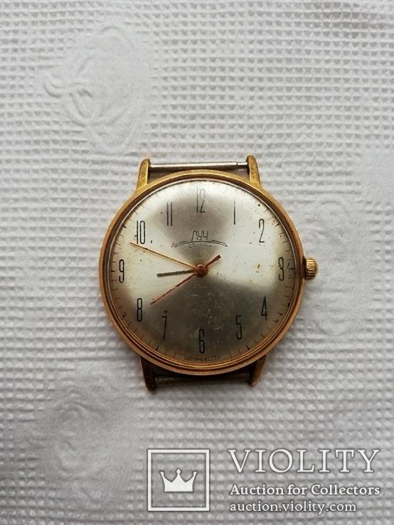 Часы Луч позолота Ay20