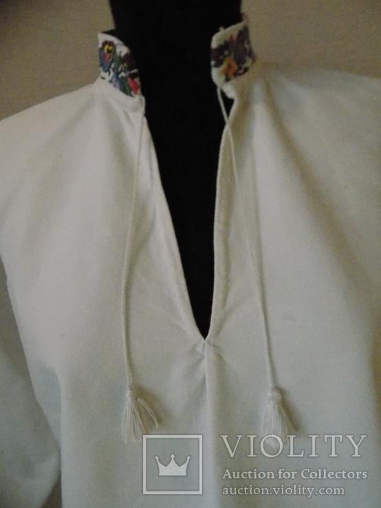 Чоловіча сорочка 1930х рр Снятинський р-н в чудовому стані збереження, фото №4
