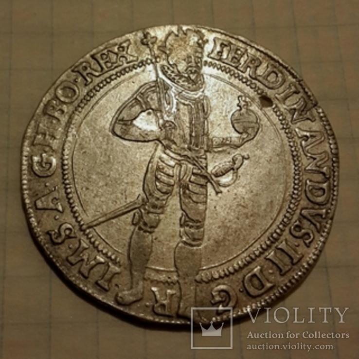 Полуталер 1625 г. Богемия, Фердинанд 2