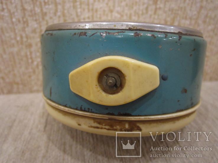 Часы будильник Витязь белый циферблат, фото №6