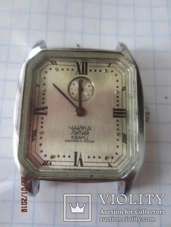 Чайка Литий кварц кварцевые наручные часы