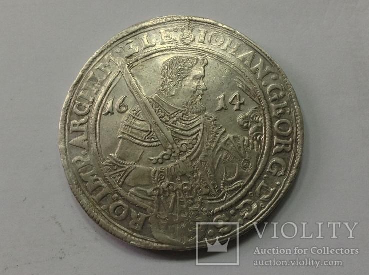 Саксония талер 1614г