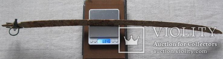 Сабля с бронзовой гардой и деталями ножен., фото №13