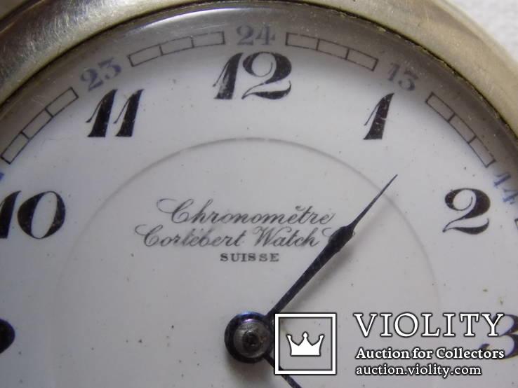 Кишеньковий Gortebert Cal.534 Swiss на ходу+відео, фото №4