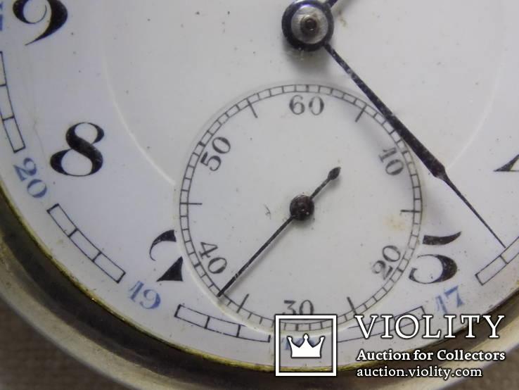 Кишеньковий Gortebert Cal.534 Swiss на ходу+відео, фото №5