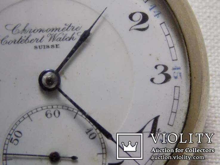 Кишеньковий Gortebert Cal.534 Swiss на ходу+відео, фото №6