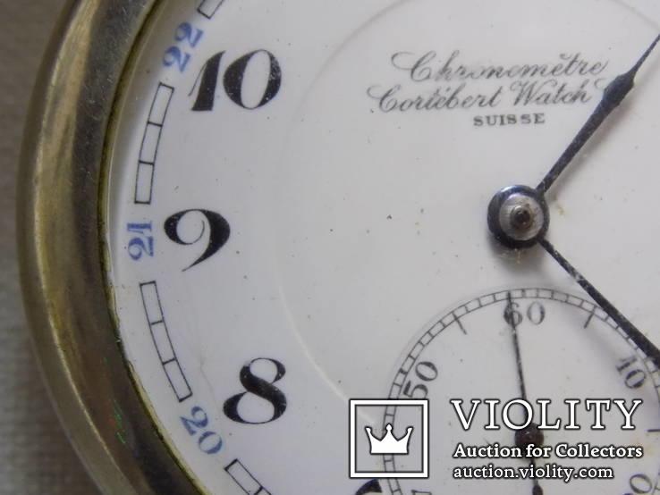 Кишеньковий Gortebert Cal.534 Swiss на ходу+відео, фото №7