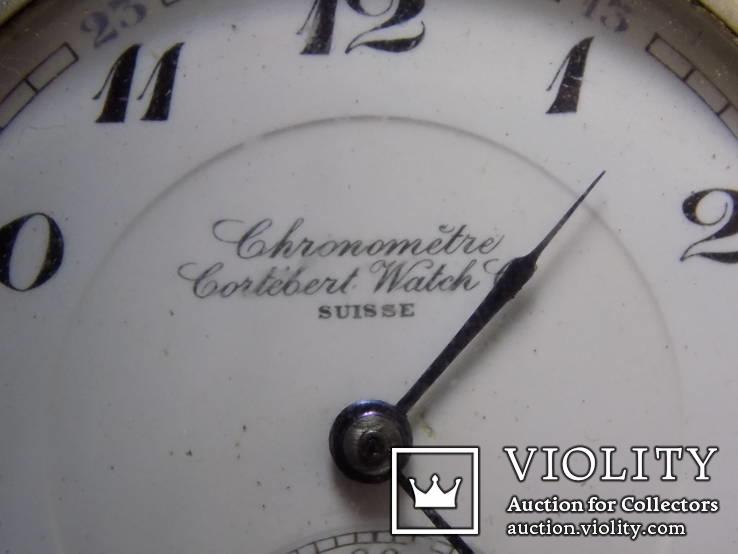 Кишеньковий Gortebert Cal.534 Swiss на ходу+відео, фото №8