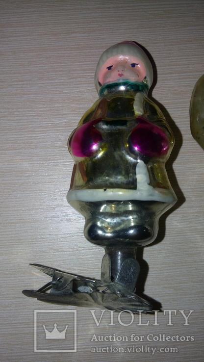Елочные игрушки на прищепках, фото №5