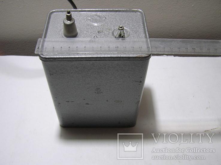 Конденсатор КБГ-П  2кВ  10 мкф.