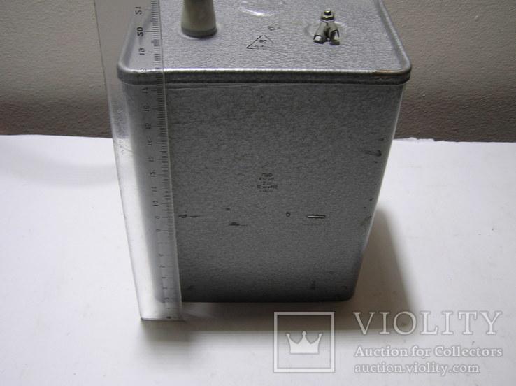 Конденсатор КБГ-П  2кВ  10 мкф., фото №3