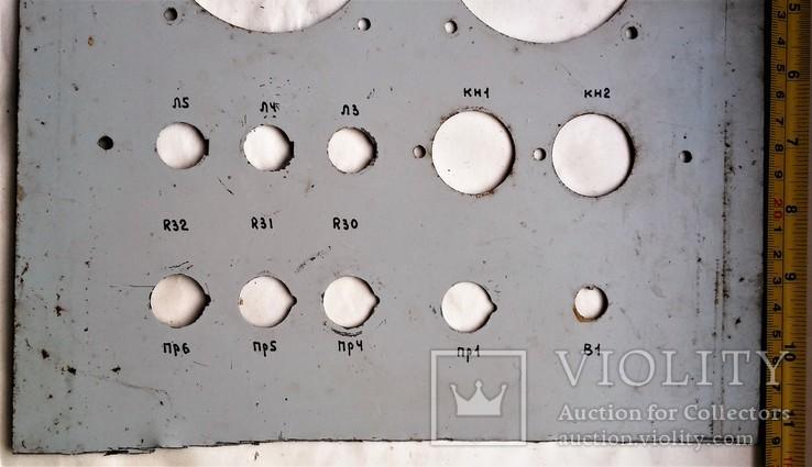 Панель с военной аппаратуры СССР, Тип АВ-2М, 1976 года., фото №7