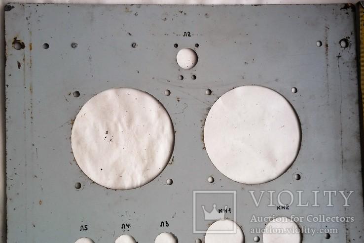 Панель с военной аппаратуры СССР, Тип АВ-2М, 1976 года., фото №8