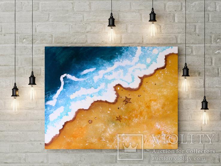 Берег моря (масло/холст) 50х60 см