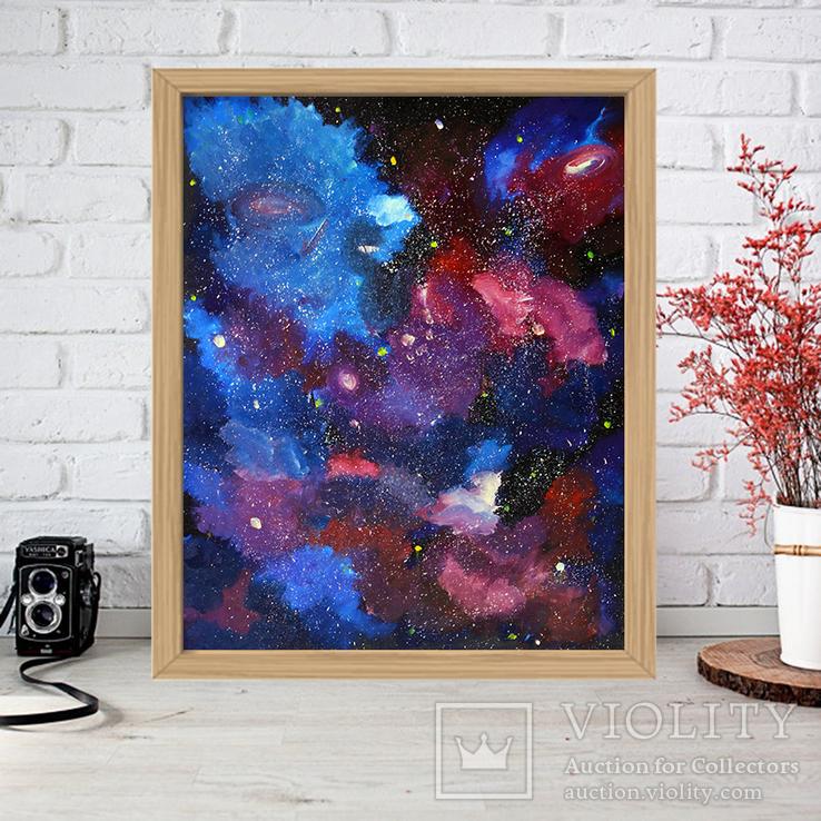 Звездная пыль (масло/холст) 60х50 см