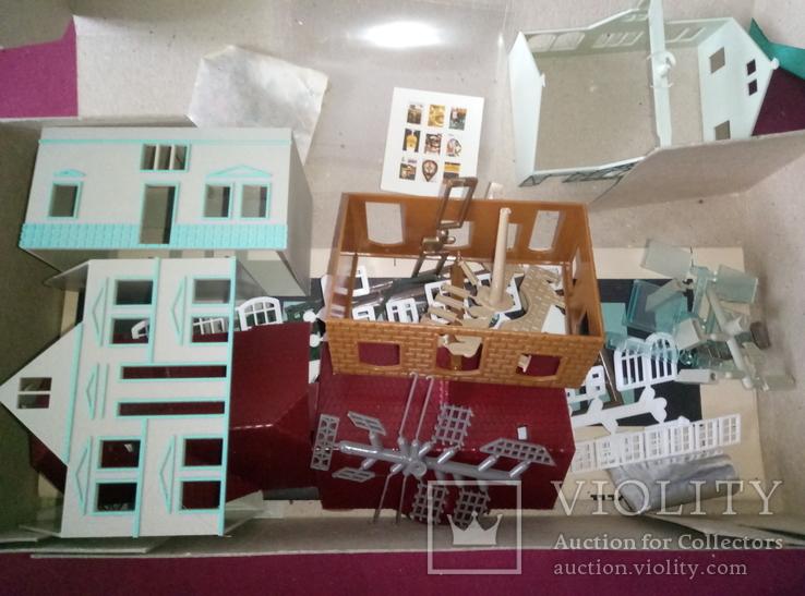 Модель для сборки два жилых дома, фото №4