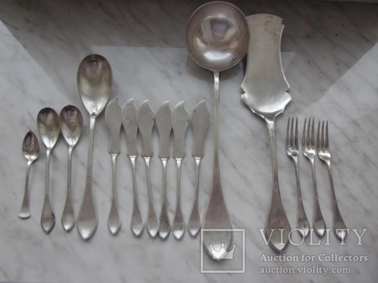 Срібні столові прилади поч.19ст. - «VIOLITY» Auction for collectors a24e47c328726