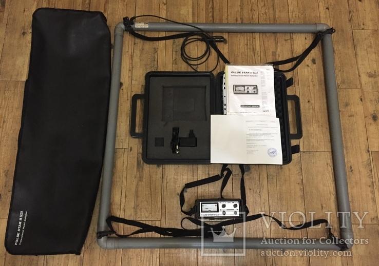 Металоискатель PULSE STAR 2 PRO Professional Metal Detector