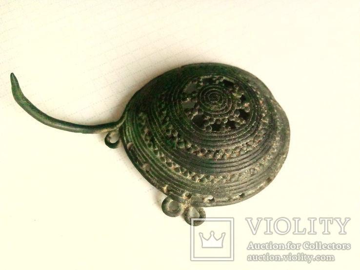 Булавка-брош, Милоградская культура, 6-5 века до н.э.