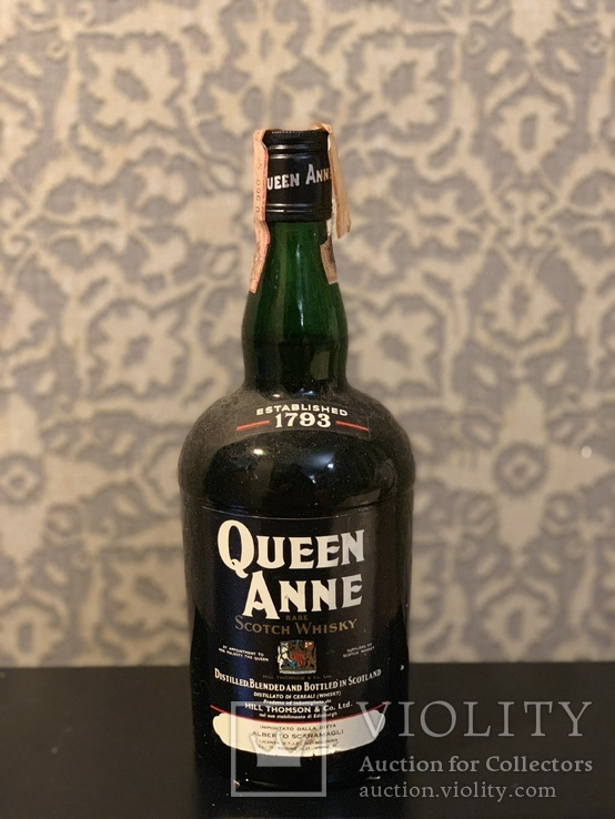 Whisky Queen Anne 1960/70s
