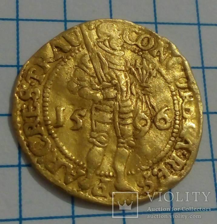 Золотой дукат 1596 года
