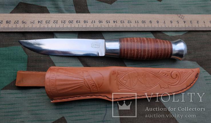 Нож охотничий - S.&S.Helle - Norge