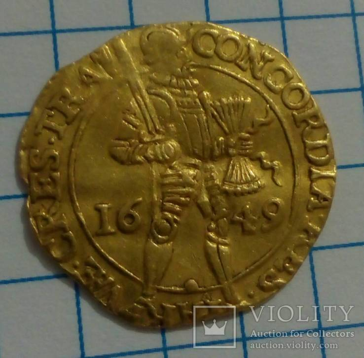 Золотой дукат 1649 года