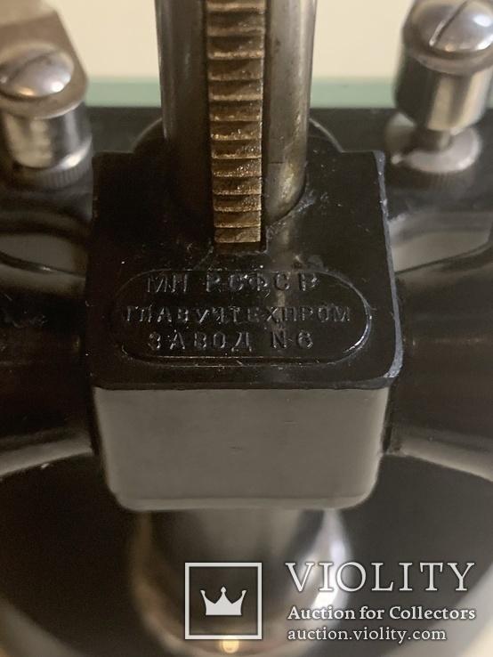 Припарировальная лупа СССР в родном деревянном футляре., фото №5