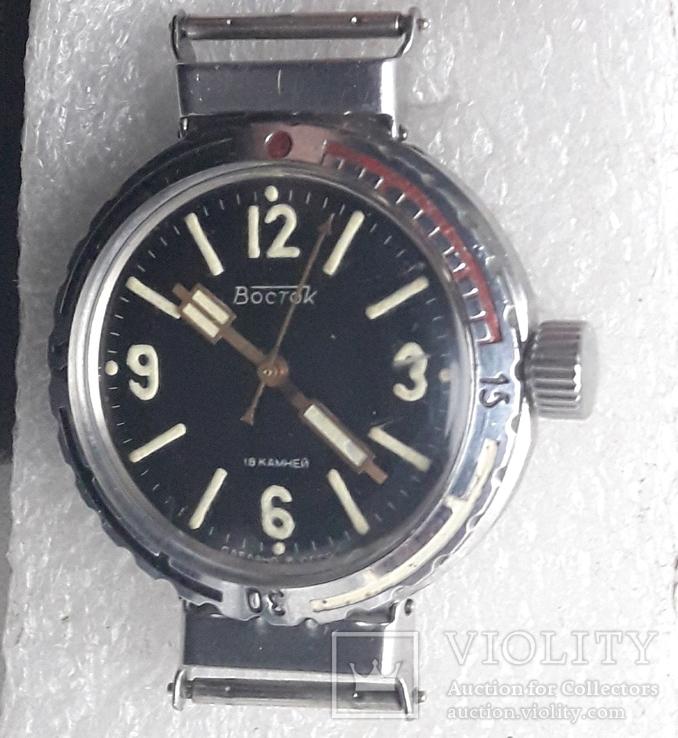 Часы НВЧ-30 атм(Амфибия ушастая)
