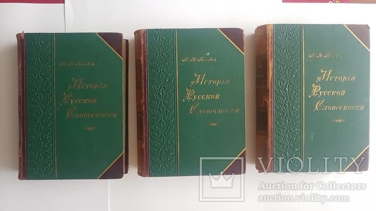 История Русской Словесности т.1-3 Н.П.Полевой