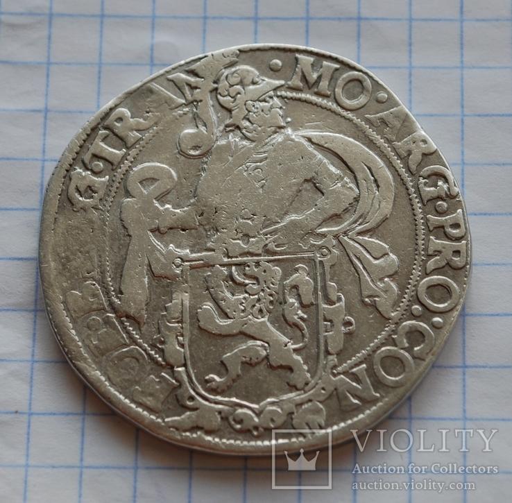 Левковый талер 1607 года.