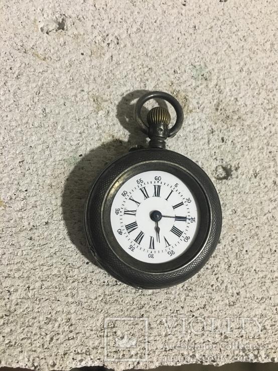 Часы карманные Cylindre 10 rubis, серебро 800