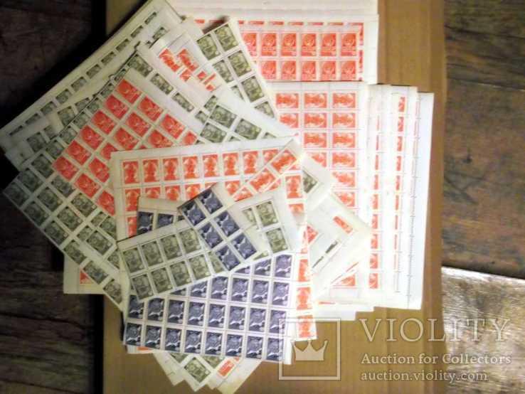 CCCP 1976 Стандарт 23 листа 1202 марки