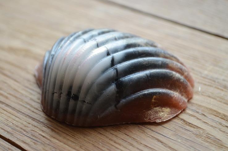 Мыло ручной работы -Морская раковина- с ароматом арбуза 74 г, фото №5