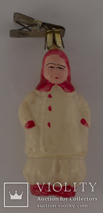 """Ялинкова іграшка """"Дівчинка"""" (5), фото №2"""