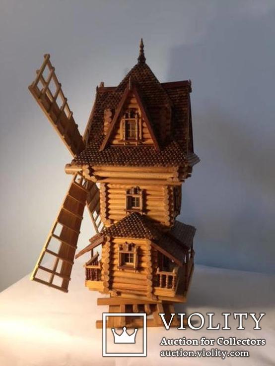 Мельница деревянная, фото №4