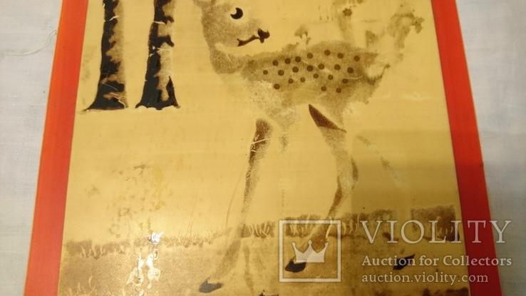 Панно на стену Олень 43*19 см, фото №5