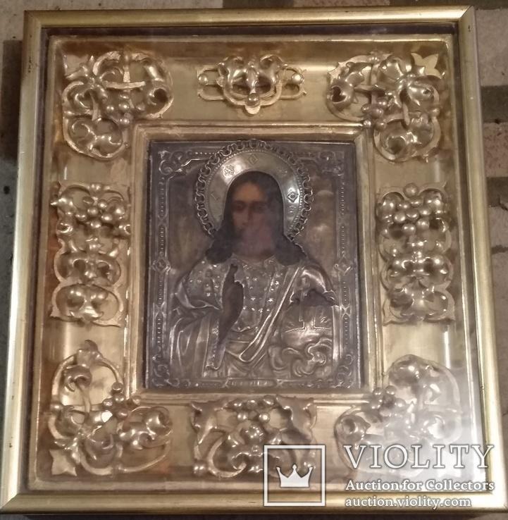 Старинная икона. Образ ( Иисуса Христа ).