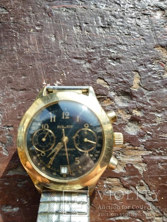 Наручные часы - хронограф - Полет.