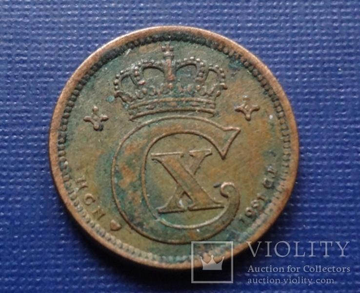 1 эре 1921  Дания    (Г.5.65)~, фото №3