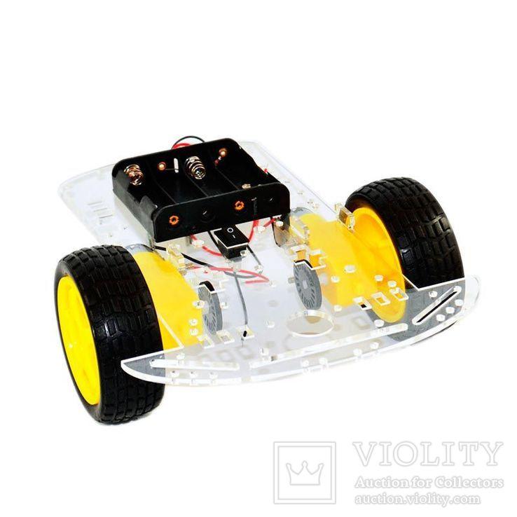 Автомобильное шасси 2WD с третьим пассивным колесом, фото №2