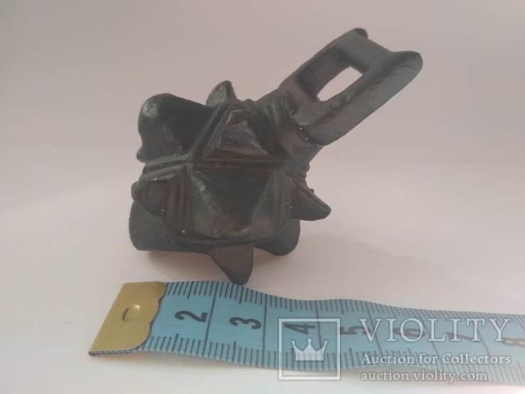 Кистень КР бронза 166-167 грамм, фото №4