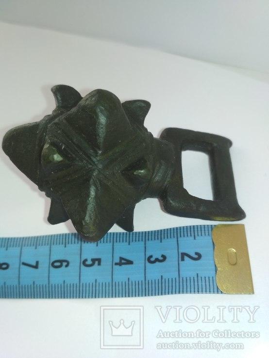 Кистень КР бронза 166-167 грамм, фото №6