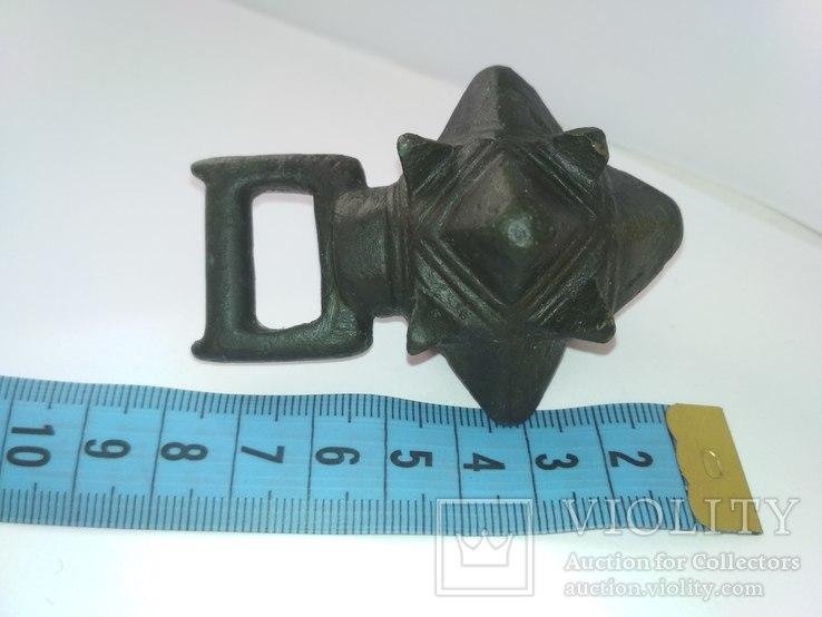 Кистень КР бронза 166-167 грамм